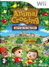 Animal Crossing Lets Go to the City voor Nintendo Wii