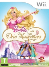 Barbie en de Drie Musketiers Zonder Handleiding voor Nintendo Wii