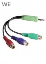 Beeld Component naar Jack kabel voor Nintendo Wii