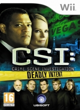 CSI Crime Scene Investigation Deadly Intent voor Nintendo Wii