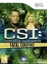 CSI Crime Scene Investigation Fatal Conspiracy voor Nintendo Wii