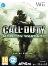 Call of Duty Modern warfare Reflex voor Nintendo Wii