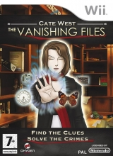Cate West The Vanishing Files voor Nintendo Wii
