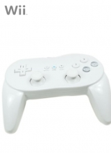 Classic Controller Pro Second Party Wit voor Nintendo Wii