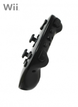 Classic Controller Second Party Zwart voor Nintendo Wii