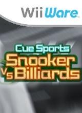 CueSports - Snooker vs Billards voor Nintendo Wii
