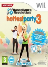 Dance Dance Revolution Hottest Party 3 & Dansmat in Doos voor Nintendo Wii