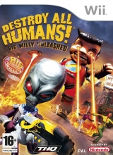 Destroy All Humans Big Willy Unleashed voor Nintendo Wii