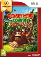 Donkey Kong Country Returns Nintendo Selects voor Nintendo Wii