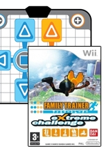 Family Trainer: Extreme Challenge & Game-Mat voor Nintendo Wii