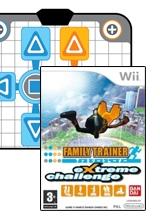 Family Trainer: Extreme Challenge & Game-Mat voor Nintendo Wii