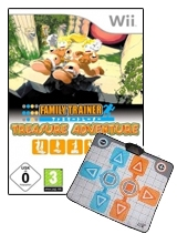 Family Trainer: Treasure Adventure & Game-Mat voor Nintendo Wii
