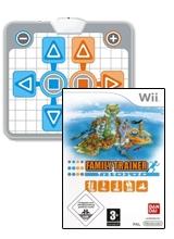 Family Trainer & Game-Mat Lelijk Eendje voor Nintendo Wii