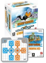 Family Trainer & Game-Mat in Doos voor Nintendo Wii