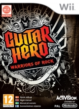 Guitar Hero: Warriors of Rock Losse Disc voor Nintendo Wii