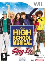 High School Musical: Sing It! voor Nintendo Wii