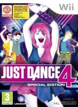 Just Dance 4 Speciale Editie Zonder Handleiding voor Nintendo Wii