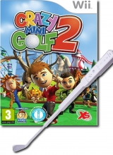 Kidz Sports: Crazy Mini Golf 2 & Golfstick voor Nintendo Wii