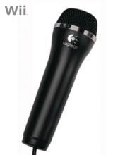 Logitech Microfoon Zwart voor Nintendo Wii