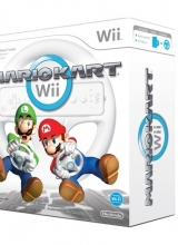 Mario Kart Wii & Nintendo Wii Wheel in Doos voor Nintendo Wii