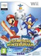 Mario & Sonic op de Olympische Winterspelen voor Nintendo Wii