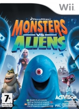Boxshot Monsters vs. Aliens