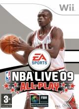 NBA Live 09 All-Play voor Nintendo Wii