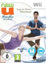 New U: Fitness First Mind Body: Yoga & Pilates Workout Losse Disc voor Nintendo Wii