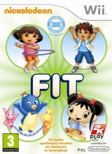 Nickelodeon Fit Losse Disc voor Nintendo Wii