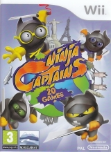 Ninja Captains 20 games voor Nintendo Wii