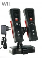 Nyko Inductie Duo Battery Pack & Stand Zwart voor Nintendo Wii