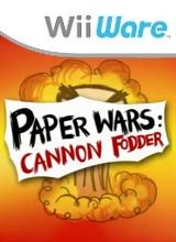 Paper Wars Cannon Fodder voor Nintendo Wii