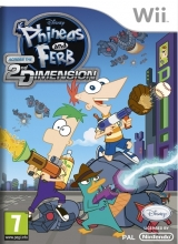 Phineas & Ferb: Across the 2nd Dimension voor Nintendo Wii