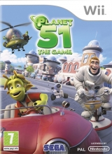 Planet 51 The Game voor Nintendo Wii