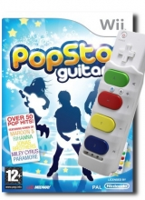 PopStar Guitar & Snap On Air-Guitar voor Nintendo Wii