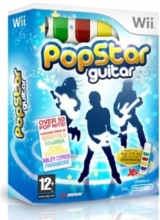 PopStar Guitar & Snap On Air-Guitar in Doos Nieuw voor Nintendo Wii