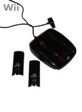 QWare Duo Battery Pack & Dock Zwart voor Nintendo Wii