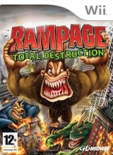 Rampage: Total Destruction voor Nintendo Wii