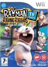 Boxshot Rayman Raving Rabbids: TV Party