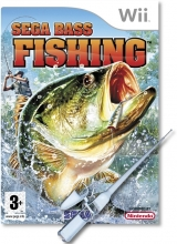 SEGA Bass Fishing & Hengel Losse Disc voor Nintendo Wii