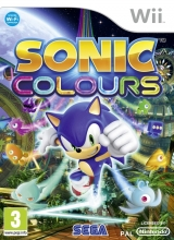 Sonic Colours Zonder Handleiding voor Nintendo Wii