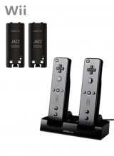 Speedlink Jazz Duo Battery Pack and Dock Zwart voor Nintendo Wii
