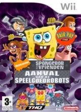 SpongeBob en zijn Vrienden: Aanval van de Speelgoedrobots voor Nintendo Wii