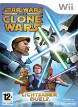 Star Wars The Clone Wars Lightsaber Duels voor Nintendo Wii