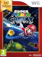Super Mario Galaxy Nintendo Selects voor Nintendo Wii