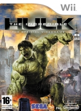 The Incredible Hulk The Official Videogame voor Nintendo Wii