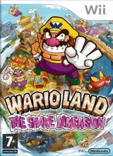 Boxshot Wario Land: The Shake Dimension