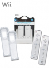 /Wii-afstandsbediening Wit 2x & Duo Battery Pack voor Nintendo Wii