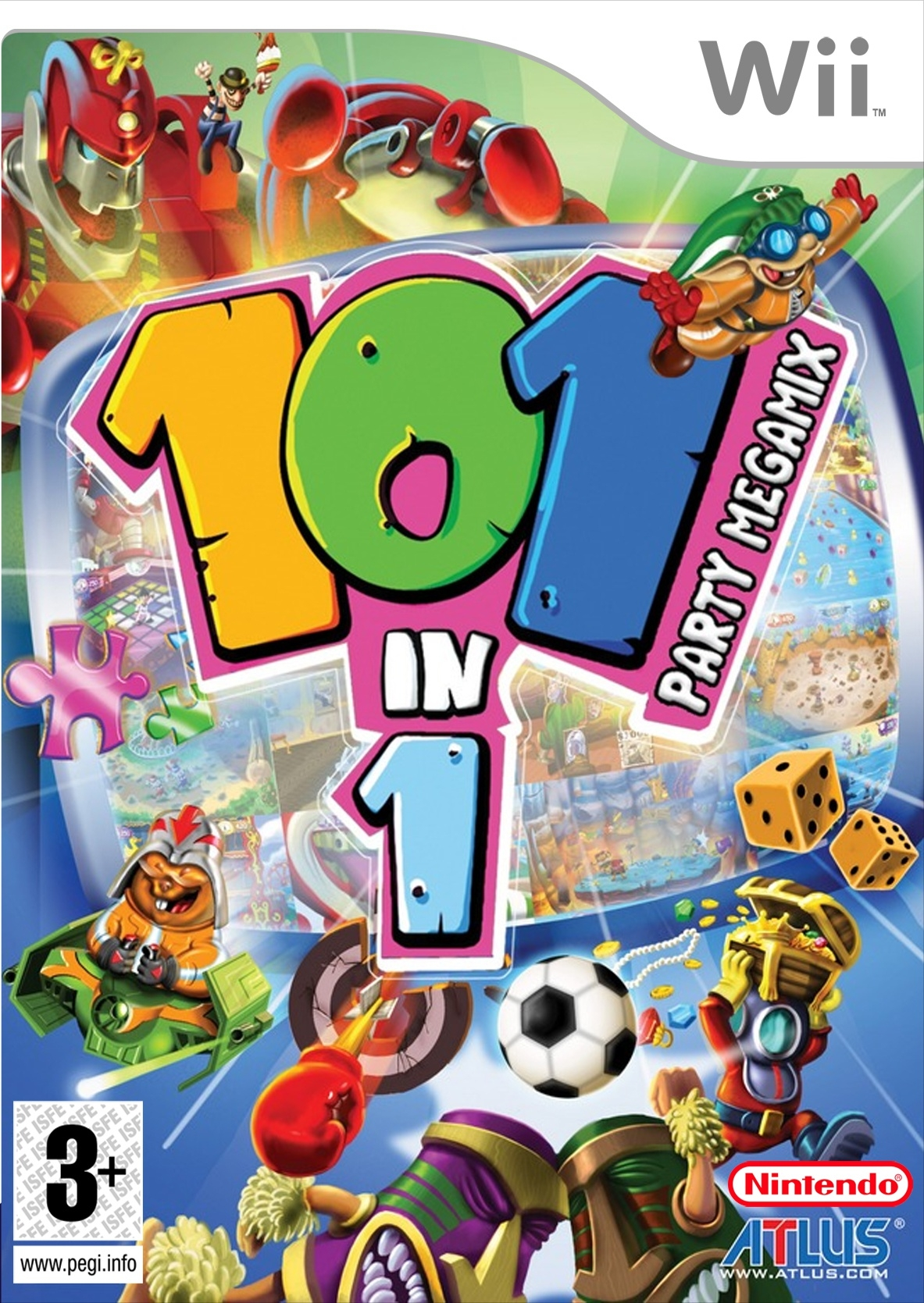 Boxshot 101-in-1 Party Megamix Wii
