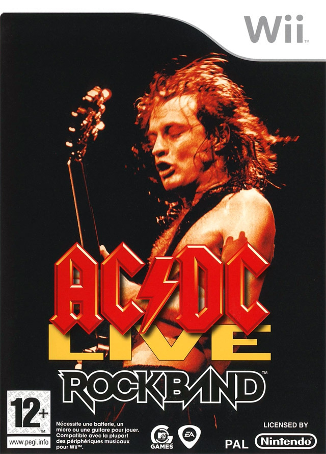 Boxshot AC/DC Live: Rock Band Track Pack